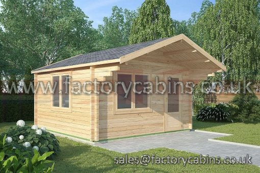 Factory Log Cabins Hereford - FCCR3084-2067