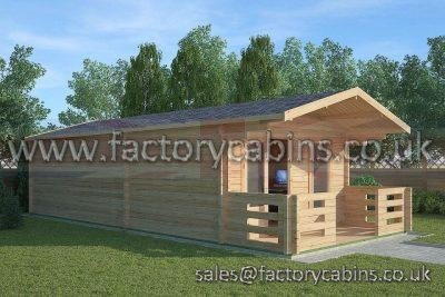 Factory Cabins Bungay - FCCR3062-2049