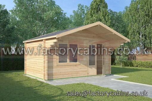 Log Cabins Malvern - 4.5m x 3.0m - 2081