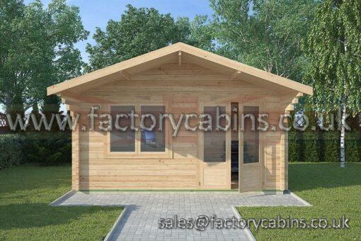 Log Cabins Camberley - 4.5m x 3.0m - 2081