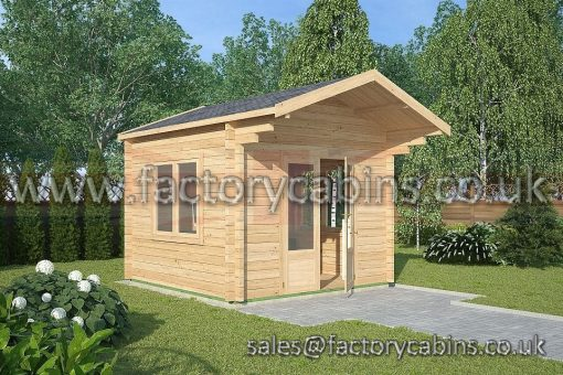 Log Cabins Evesham - FCCR3087-2035