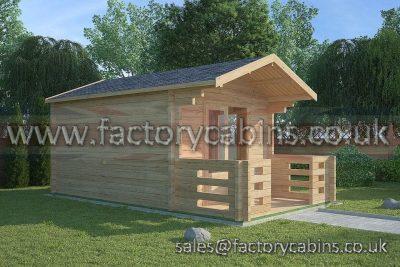 Log Cabins Bromsgrove - FCCR3091-2016