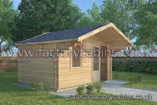 Log Cabins Salisbury - FCCR3068-2074