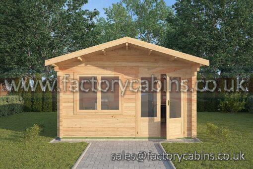Log Cabins Lowestoft - 4.0m x 4.0m - 2064