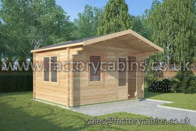 Log Cabins Dorchester - 4.0m x 3.0m - 2063