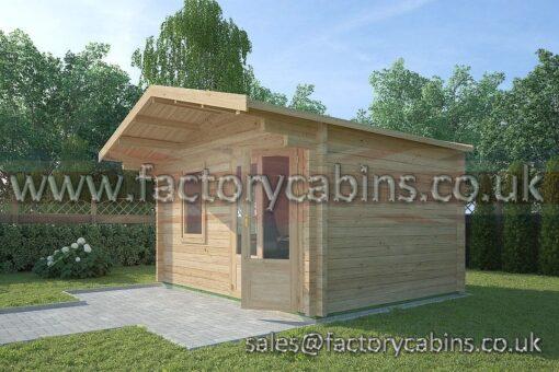 Log Cabins Mildenhall - 4.0m x 3.0m - 2063