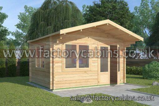 Log Cabins Merthyr Tydfil - 4.0m x 3.0m - 2062
