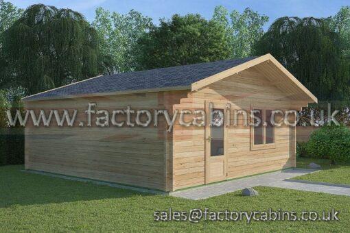 Log Cabins Pontypool - FCCR3078-2116