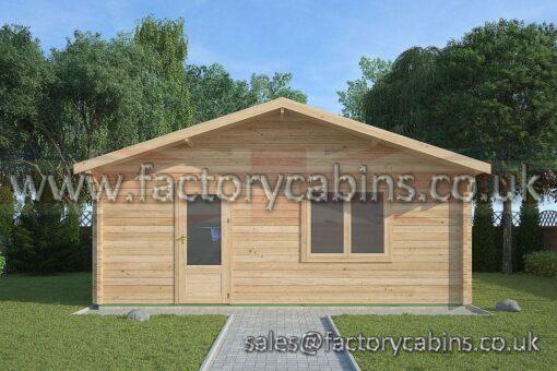 Log Cabins Orford - 6.0m x 6.0m - 2116