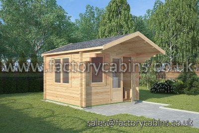 Log Cabins Pontypridd - 3.0m x 4.0m - 2023