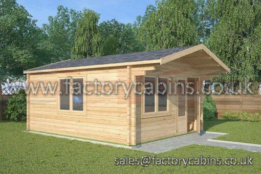 Log Cabins gloucester - FCCR3105-2061