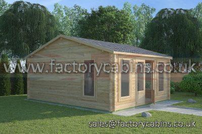 Log Cabins Abergavenny - FCCR3080-2078
