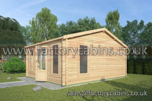 Log Cabins Southwold - 4.5m x 4.5m - 2078