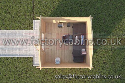 Log Cabins Stowmarket - 3.0m x 3.0m - 2029