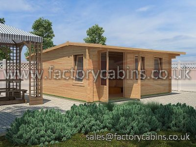 Log Cabins For Sale - FCPC2028 - DF28