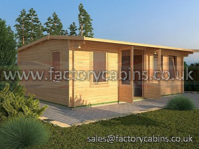 Log Cabins Faringdon - FCPC2033 - DF33