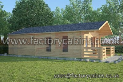 Factory Log Cabins Madeley - FCCR3016-2101