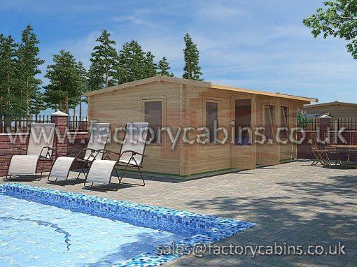 Log Cabins Oxford - FCPC2032 - DF32