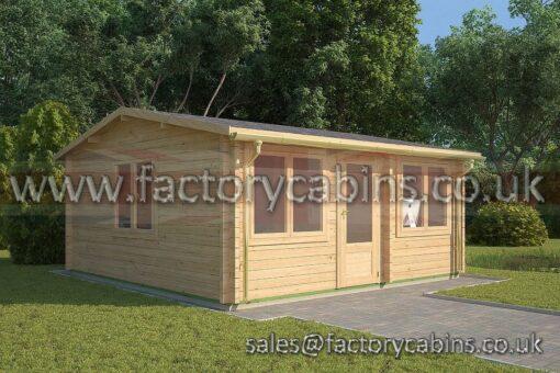 Log Cabin Ruscote 5.5m x 5m 2111