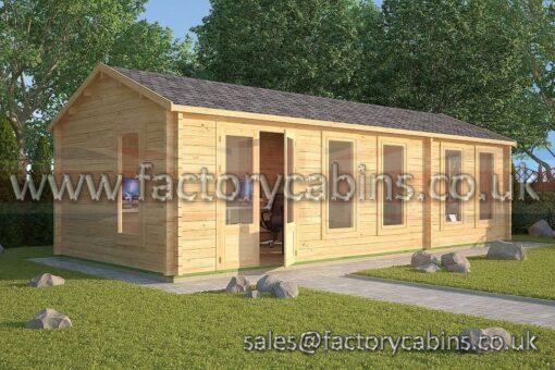 Log Cabin Thame 8.5m x 3.5m 2125