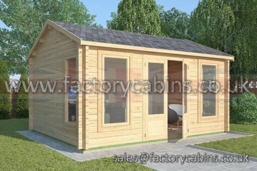 Factory Log Cabins Wellington - FCCR3023-2075