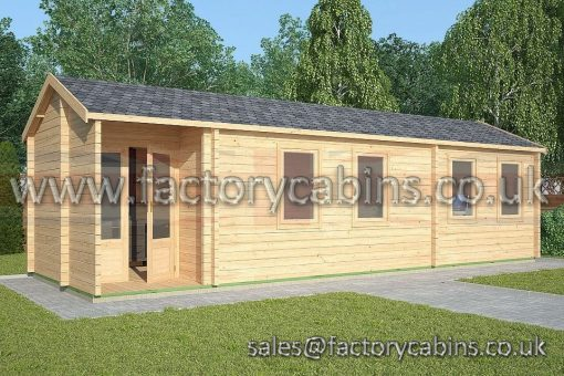 Factory Log Cabin Whitchurch - FCCR3015-2128