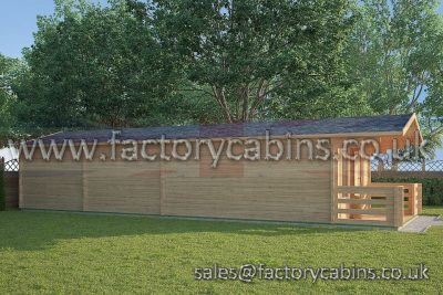 Log Cabins Witney - FCCR3007