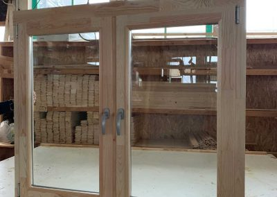 New Windows and Doors log Cabins LV 2021 01