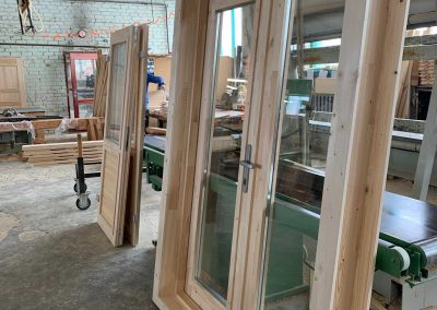 New Windows and Doors log Cabins LV 2021 42