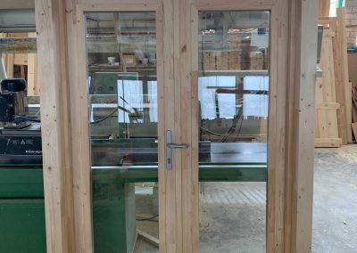 New Windows and Doors log Cabins LV 2021 43